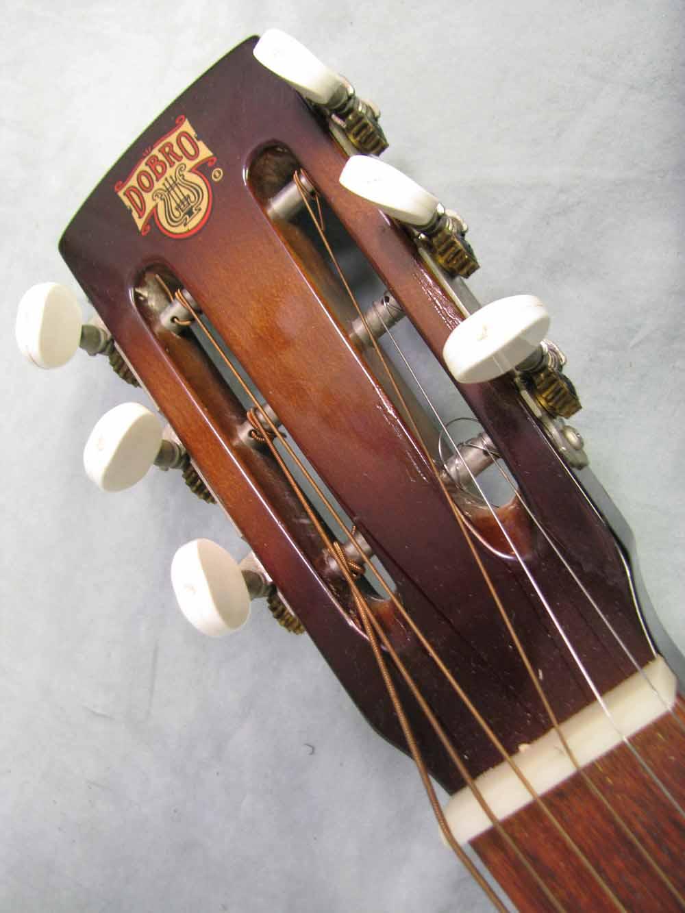 1980 dobro model 60d square neck resonator guitar used vintage acoustic. Black Bedroom Furniture Sets. Home Design Ideas
