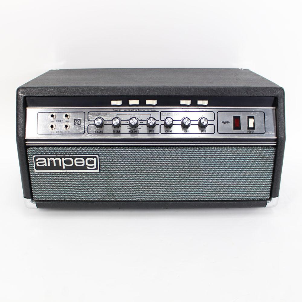 Vintage 1978 Ampeg SVT Black Line 300W Tube Bass Amp Head