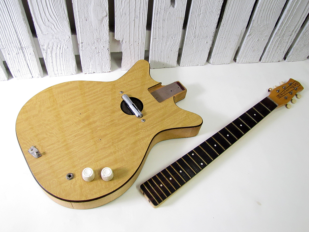 vintage used danelectro convertible electric parts project guitar ebay. Black Bedroom Furniture Sets. Home Design Ideas