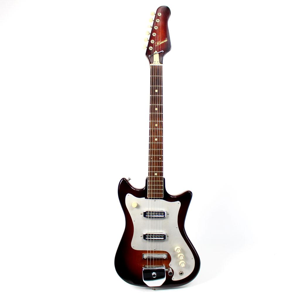 vintage 1960s kawai electric guitar. Black Bedroom Furniture Sets. Home Design Ideas
