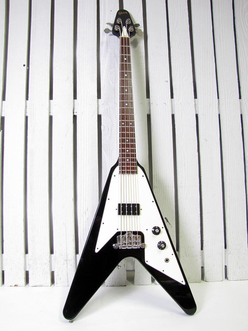 vintage 1981 gibson flying v electric bass guitar ebay. Black Bedroom Furniture Sets. Home Design Ideas